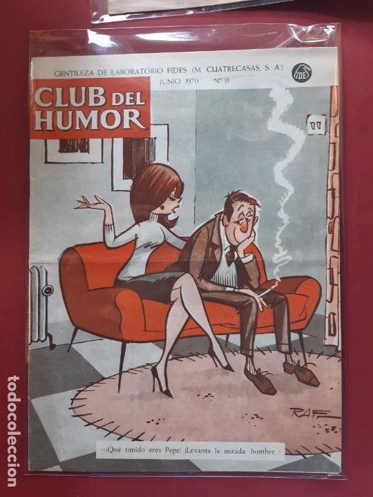 CLUB DEL HUMOR Nº 31 EXCELENTE ESTADO 1969 (Tebeos y Comics - Ibero Mundial)