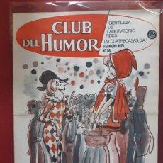 Tebeos: CLUB DEL HUMOR Nº 38 EXCELENTE ESTADO 1969. Lote 193340800