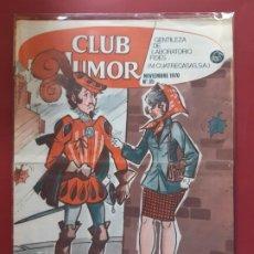 Tebeos: CLUB DEL HUMOR Nº 35 EXCELENTE ESTADO 1969. Lote 193340890