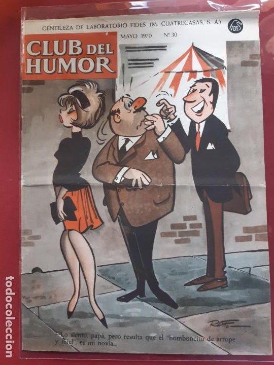 CLUB DEL HUMOR Nº 30 EXCELENTE ESTADO 1970 (Tebeos y Comics - Ibero Mundial)