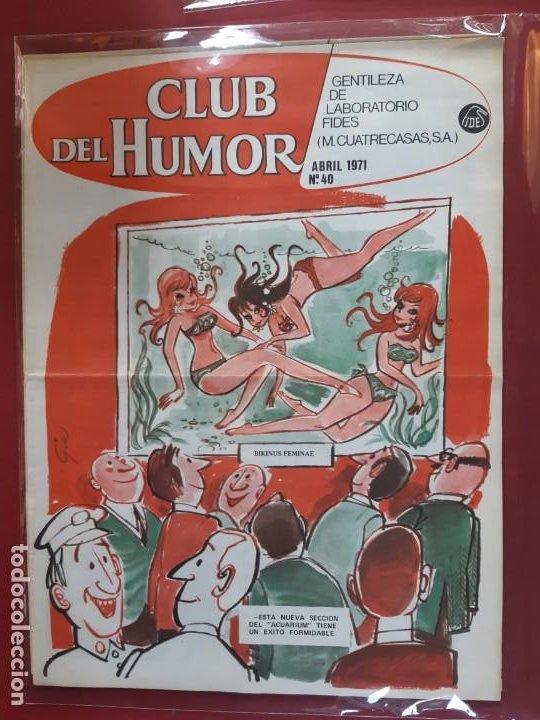 CLUB DEL HUMOR Nº 40 EXCELENTE ESTADO 1971 (Tebeos y Comics - Ibero Mundial)