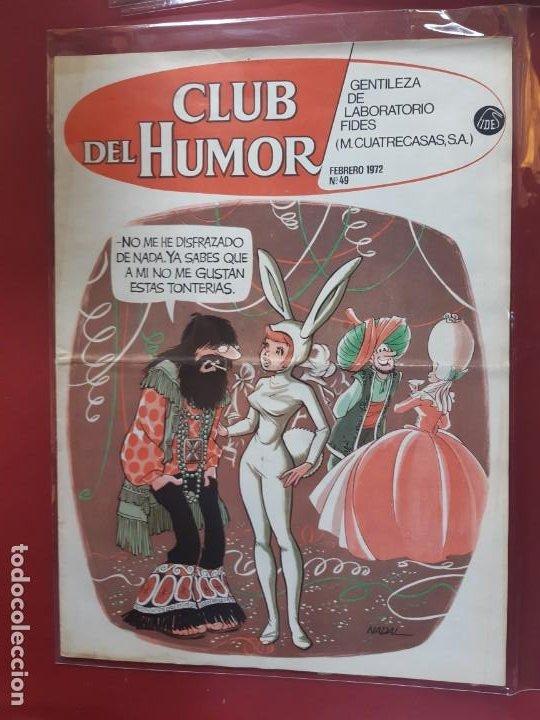CLUB DEL HUMOR Nº 49 EXCELENTE ESTADO 1972 (Tebeos y Comics - Ibero Mundial)