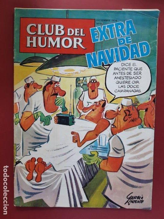CLUB DEL HUMOR Nº 80 BUEN ESTADO 1974 (Tebeos y Comics - Ibero Mundial)
