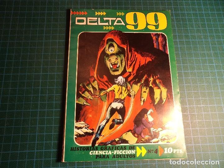 DELTA 99. Nº 4. IBERO MUNDIAL. (E-32) (Tebeos y Comics - Ibero Mundial)