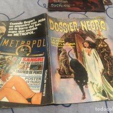 Tebeos: DOSSIER NEGRO Nº163 EDICIONES IBERO MUNDIAL. Lote 195265525