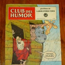 Tebeos: CLUB DEL HUMOR : GENTILEZA DE LABORATORIO FIDES. NOVIEMBRE 1973 ; Nº 68. Lote 195385175