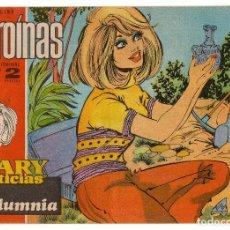 Tebeos: HEROINAS MARY NOTICIAS Nº 386 (IBERO MUNDIAL 1969) CONTRAPORTADA MIKE KENNEDY.. Lote 195608565