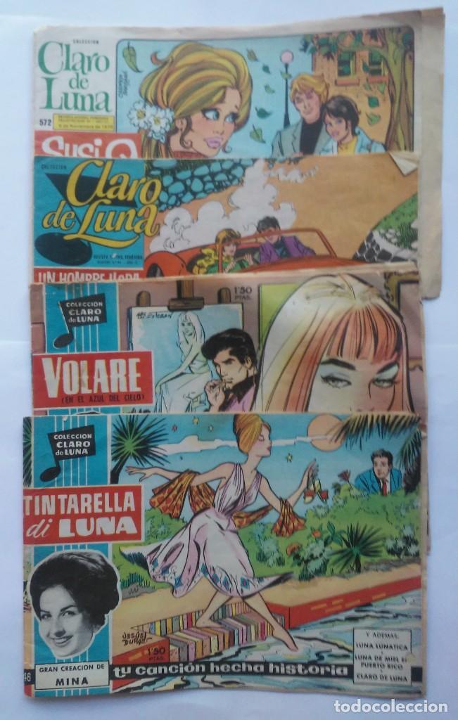 LOTE CLARO DE LUNA 46. 49. 436, 529 Y 572. ESPIRITUAZUL (Tebeos y Comics - Ibero Mundial)