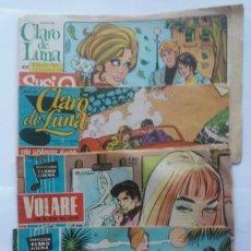 Tebeos: LOTE CLARO DE LUNA 46. 49. 436, 529 Y 572. ESPIRITUAZUL. Lote 196350515