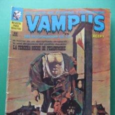 Tebeos: VAMPUS Nº 15 IBERO MUNDIAL DE EDICIONES 1972. Lote 196735251