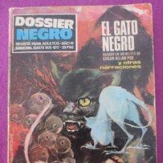 Tebeos: TEBEO DOSSIER NEGRO Nº17 EL GATO NEGRO 1970. Lote 199448302