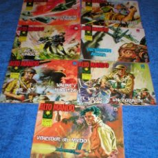 Tebeos: BUEN LOTE 7 TEBEOS ALTO MANDO ORIGINALES 1964 IBERO MUNDIAL DE EDICIONES + REGALO MUY BUEN ESTADO !!. Lote 199869757