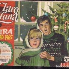 Tebeos: CLARO DE LUNA. EXTRA DE NAVIDAD 1965. Lote 200031905