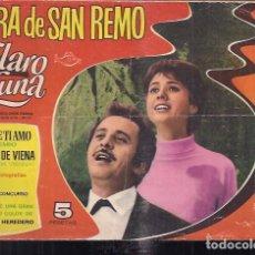 Tebeos: CLARO DE LUNA EXTRA SAN REMO 1966. Lote 200032495