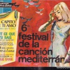 Tebeos: CLARO DE LUNA EXTRA 6º FESTIVAL DE LA CANCIÓN MEDITERRANEA. Lote 200032857