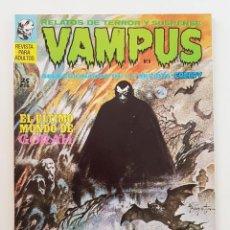 Giornalini: VAMPUS Nº 6 - RELATOS DE TERROR Y SUSPENSE - IBEROMUNDIAL - 1972 - IMPECABLE. Lote 200194108