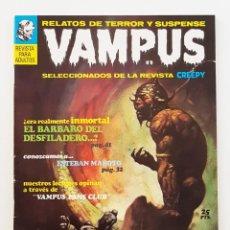 Giornalini: VAMPUS Nº 9 - RELATOS DE TERROR Y SUSPENSE - IBEROMUNDIAL - 1972 - MUY BUEN ESTADO. Lote 200195203