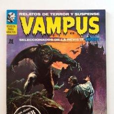 Giornalini: VAMPUS Nº 13 - RELATOS DE TERROR Y SUSPENSE - IBEROMUNDIAL - 1972 - IMPECABLE. Lote 200195461