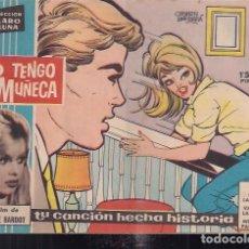 Tebeos: CLARO DE LUNA Nº 127. YO TENGO UNA MUÑECA. DEL FILM DE BRIGITTE BARDOT. Lote 200253641