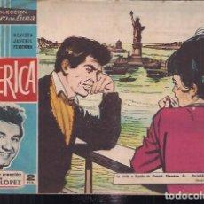 Tebeos: CLARO DE LUNA Nº 232. AMERICA. MAGNIFICA CREACIÓN DE TRINI LOPEZ. Lote 200540795