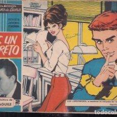 Tebeos: CLARO DE LUNA Nº 259. ES UN SECRETO. EXITO DEFINITIVO DE LUIS AGUILE. Lote 200647593