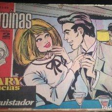 Tebeos: COLECCION HEROINAS - MARY NOTICIAS Nº181 - EL CONQUISTADOR - ED. IBERO MUNDIAL 1962. Lote 202934347