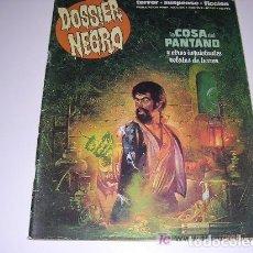 Tebeos: DOSSIER NEGRO Nº 209 LA COSA DEL PANTANO. Lote 203150208