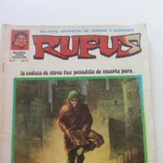 Tebeos: RUFUS . Nº 2. EL DESALOJADO. ÍBERO MUNDIAL CX58. Lote 205388227