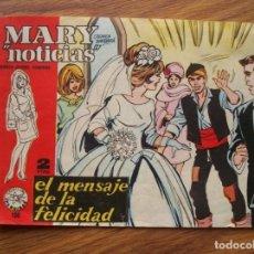 Tebeos: MARY NOTICIAS Nº 100 EL MENSAJE DE LA FELICIDAD (IBERO MUNDIAL 1962). Lote 205531935