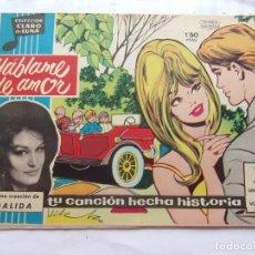 Tebeos: CLARO DE LUNA NÚM. 138 HABLAME DE AMOR. Lote 205746741