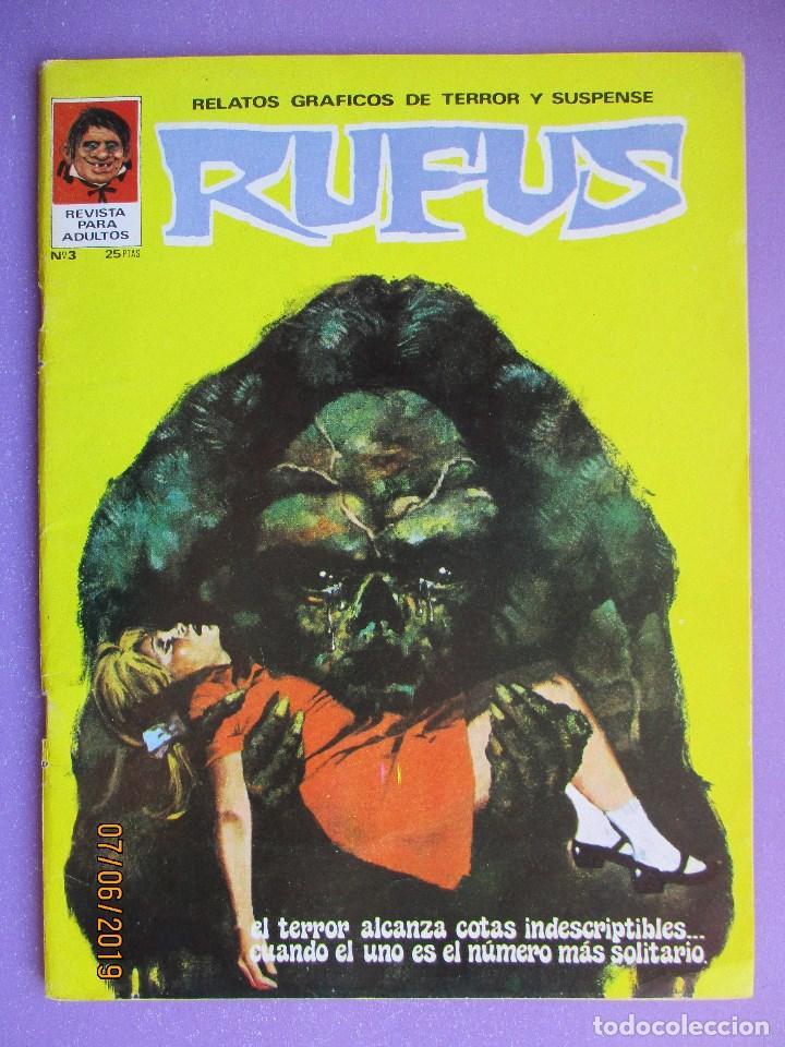RUFUS Nº 3 ¡¡¡ MUY BUEN ESTADO !!! (Tebeos y Comics - Ibero Mundial)