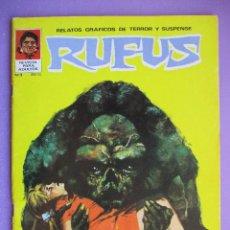 Tebeos: RUFUS Nº 3 ¡¡¡ MUY BUEN ESTADO !!!. Lote 210487417