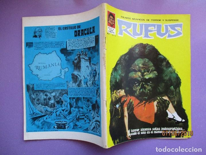 Tebeos: RUFUS Nº 3 ¡¡¡ MUY BUEN ESTADO !!! - Foto 3 - 210487417