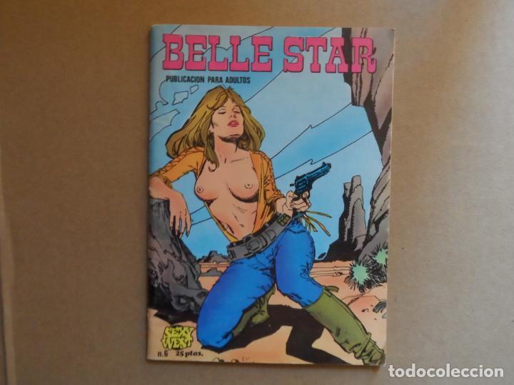 BELLE STAR - Nº 6 - EDICIONES IBERO MUNDIAL (Tebeos y Comics - Ibero Mundial)