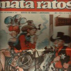 Tebeos: MATA RATOS Nº 18 - 10 SEPTIEMBRE 1965 - PORTADA DE BUXADE - IBEROMUNDIAL. Lote 212520925