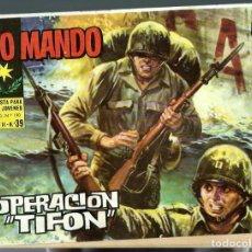 Tebeos: ALTO MANDO Nº 39 - OPERACION TIFON - IBEROMUNDIAL 1964. Lote 212525951