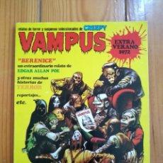 Tebeos: VAMPUS EXTRA VERANO 1972 - ESPELUZNANTEMENTE PERFECTO!. Lote 212954330