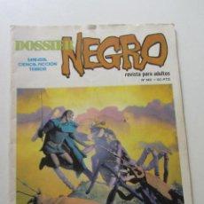 BDs: DOSSIER NEGRO Nº 140 EDICIONES GIESA 1980. TERROR SUSPENSE FICCIÓN E11X2. Lote 213402788
