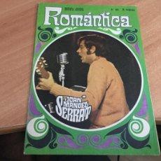 Tebeos: ROMANTICA Nº 351. SERRAT PORTADA. INCLUYE POSTER PAUL MCCARTNEY BEATLES (IBERO MUNDIAL) (COIB123). Lote 213732948