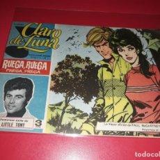 Tebeos: CLARO DE LUNA Nº 457 1959 IMDE REPORTAJE PAUL MC CARTNEY. Lote 215099257