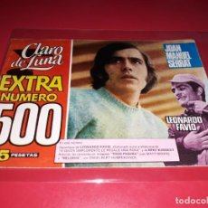 Tebeos: CLARO DE LUNA EXTRA Nº 500 IMDE JOAN MANUEL SERRAT. Lote 215174182