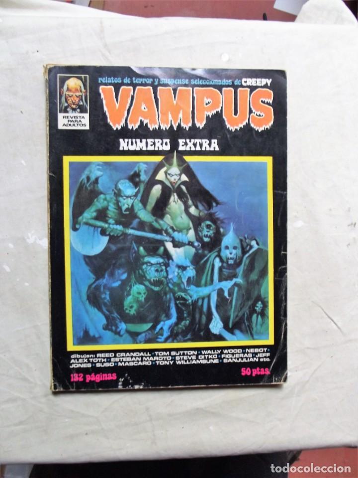 VAMPUS NUMERO EXTRA IBERO MUNDIAL (Tebeos y Comics - Ibero Mundial)