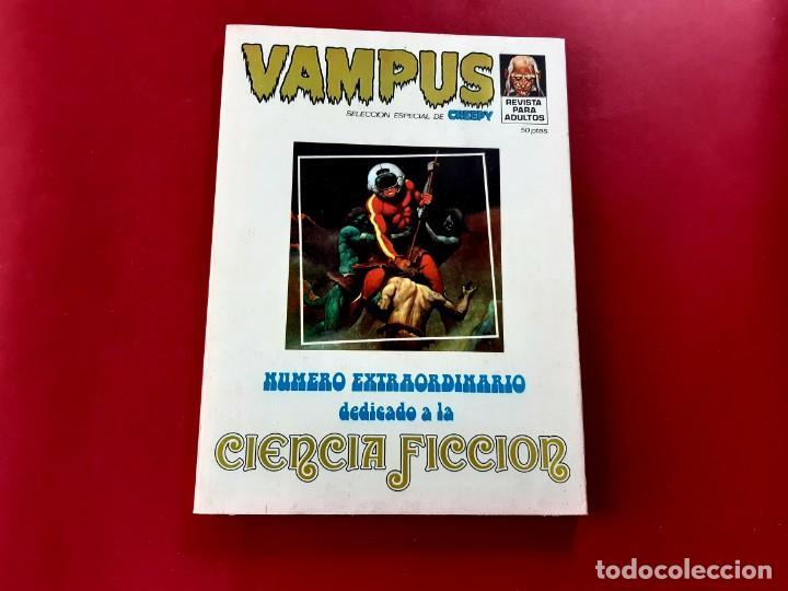 VAMPUS EXTRA CIENCIA FICCIÓN. SELECCIÓN DE CREEPY 1970-EXCELENTE ESTADO (Tebeos y Comics - Ibero Mundial)
