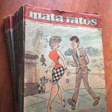 Tebeos: MATA RATOS (1965-1974) 2ª ETAPA 110 CÓMICS IBERO MUNDIAL DE EDICIONES. Lote 219170262