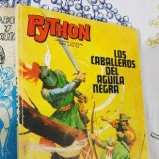 Tebeos: PYTHON N.º 3 LOS CABALLEROS DEL AGUILA NEGRA IBERO MUNDIAL DE EDICIONES 1969 TACO. Lote 222392083