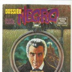 Livros de Banda Desenhada: DOSSIER NEGRO 83, 1976, IBERO MUNDIAL DE EDICIONES, MUY BUEN ESTADO. COLECCIÓN A.T.. Lote 222593757
