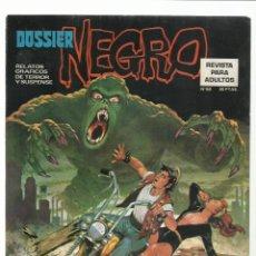 Livros de Banda Desenhada: DOSSIER NEGRO 62, 1974, IBERO MUNDIAL DE EDICIONES, MUY BUEN ESTADO. COLECCIÓN A.T.. Lote 222595495