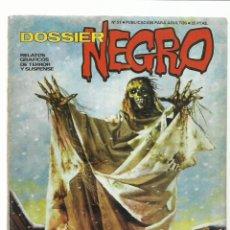 Livros de Banda Desenhada: DOSSIER NEGRO 51, 1973, IBERO MUNDIAL DE EDICIONES, MUY BUEN ESTADO. COLECCIÓN A.T.. Lote 222597141
