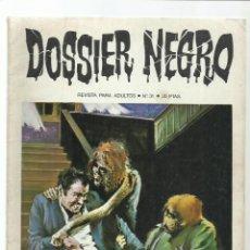 Livros de Banda Desenhada: DOSSIER NEGRO 31, 1971, IBERO MUNDIAL DE EDICIONES, MUY BUEN ESTADO. COLECCIÓN A.T.. Lote 222653131