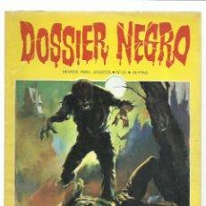 Livros de Banda Desenhada: DOSSIER NEGRO 25, 1971, IBERO MUNDIAL DE EDICIONES, MUY BUEN ESTADO. COLECCIÓN A.T.. Lote 222653882